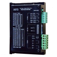 X572 Stepper Motor Driver Current 4.5A 70V DC Super Strong Anti Interference Capability (Audio)
