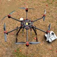 Flycker MH-650 FPV Hexacopter 650mm Carbon Fiber Multicopter FPV Aircraft Frame Landing GearKit