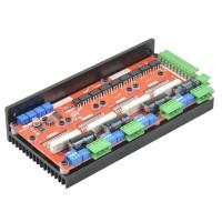 LV8727 4 axis 4.2A Stepper Motor Driver Controller Board 128 Segment 1M Khz CNC Engraving Machine Drive