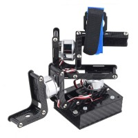 3 Axis Carbon Fiber Handheld Brushless Gimbal Kit for Gopro 2/3 Camera