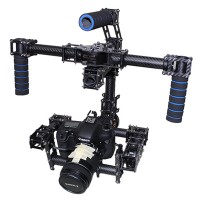 3-Axis Handle DSLR Brushless Gimbal/Stablizer Carbon Fiber 3 Axis DSLRGimbal  for 5D GH2 GH3 BMCC