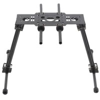 SkyKnight 3K Carbon Fiber Landing Skid Gear Set for F450 F550 X500 Multicopter