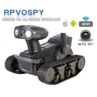 LT-728 Real-time Video WIFI Remote Control Model Robot Car Tank with Camera