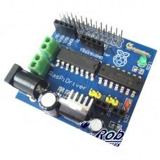 RaspiRobot Board Raspberry Pi DC Motor Driver Board 7-12V Dual Bidirectional Motor Control
