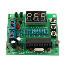 2PCS DIY Digital display thermometer suite AT89C2051+DS18B20 Temperature control parts 1264
