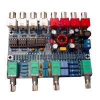 Front Panel Board 5532 Preamp Operational Amplifier Tone Plate Independent 4Channel Super Low Noise for Fever Level