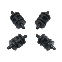 Drum-shaped High Effeciency Anti-vibration Rubber Ball Damper Ball for Camera Gimbal FPV Black 4pcs/lot