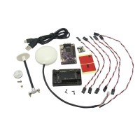 APM 2.5.2 ArduPilot Mega Multicopter Flight Control Board with uBlox 6M GPS + Case & Bracket