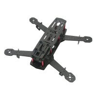 Carbon Fiber 250mm Mini FPV Quadcopter Frame Kit 4 Axis Mulitcopter