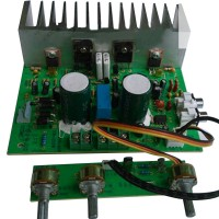 LM1875T Large Power Heavy Subwoofer 2.1 Amplifier Board 3 Channel Fever Board Dual 24V150W
