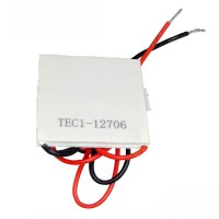 12V 6A 72W TEC1-12706 Thermoelectric Cooler Cooling Peltier Plate Module 40x40mm