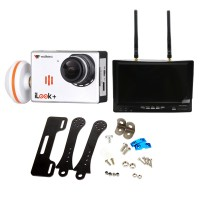Walkera FPV iLook+ Camera with Boscam RX LCD5802 Monitor & Carbon Fiber Mount