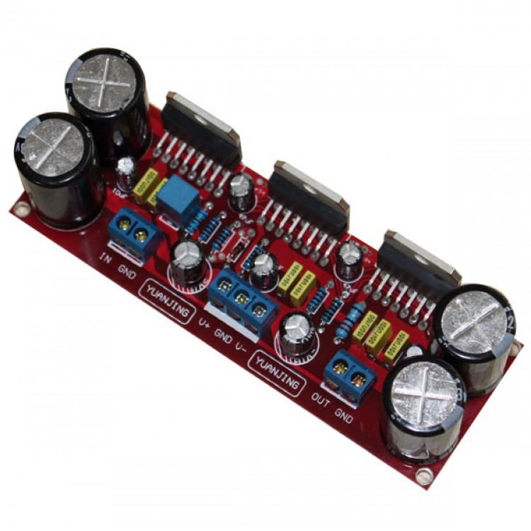 Assembled LM3886 X3 in Parallel 150W Pure DC Mono Power Amplifier Board Module