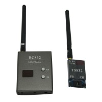 Boscam FPV 5.8Ghz 600mW 32 Channels Wireless A/V transmitter and receiver TS832+RC832 Tx & Rx Set for aircraft 5KM range