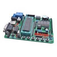 STC12LE STC12C5A60S2 AD SPI Dual Serial Port 3.3V 51 Singlechip Development Learning Board