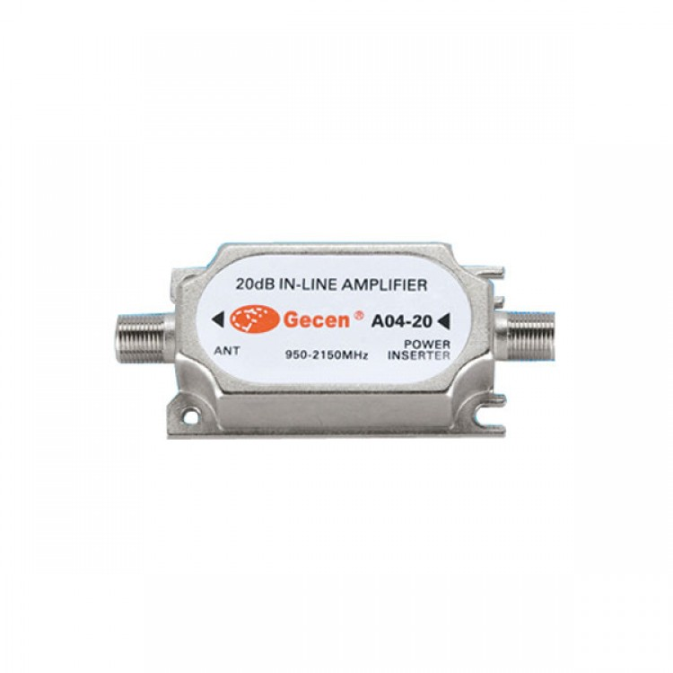 One Hundred (100) New GECEN A04-20 20dB In-Line Amplifier - Free