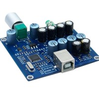 X5 PCM2706 + CS4344 + Dual TDA1308 Parallel Output Headphone Amp Board