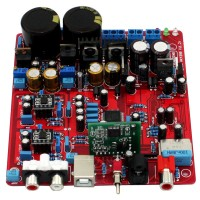 NEW AK4399 + PCM2706 + WM8805 USB DAC Decoder Completed Board