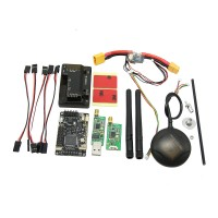 APM2.6 ArduPilot UAV Flight Controller APM 2.6+ 6H GPS w/ Compass+Power Module+ 433Mhz 3DR Radio Telemetry