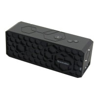 High Quality Super Bass Sounder Bluetooth 4.0 HIFI Speaker with High Quality Microphone Black