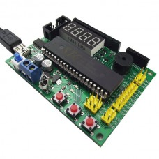 YF-C1 Smart Car Control Main Board Singlechip Control Board Motor Drive Tracking Obstacle Avoidance w/ Download Line
