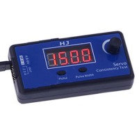 HJ Multifunctional Tester 4-Channel Pulse Width Analog / Digital Servo Driver Tester Consistency Master