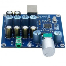 X5 PCM2706 + CS4344 + Two Parallel TDA1308 Output Board Amp USB DAC Finished Amp Bare Plate