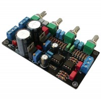 HIFI Preamp Tone Board OPA2604 Fever Operational Amp AD827 Preamp 5532 Tone Upgraded Amp