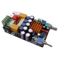 TA2021B Amplifier Board Computer Digital Amp 12V Desktop Amp w/ Protection Circuit
