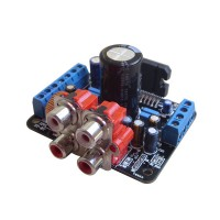TDA7850 Amplifier Board 12V Amp 50W x 4 Channel Desktop Amp Board RCA Socket Input