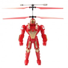 Syma S9 Iron Man RC Helicopter Robot Model 3.5CH for Child Red/ Blue