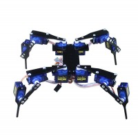 Hexapod3 Mini 4 Foot Remote Control Robot Multi Foot Frame Kit Acrylic Laser Cutting