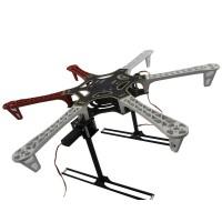 DJI F550 Retractable Automatic 3K Carbon Fiber Landing Gear for Hexacopter