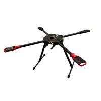 HML F650 Hummingbird Quick Install Folding Portable Quadcopter Carbon Fiber Plate without Welding Dots