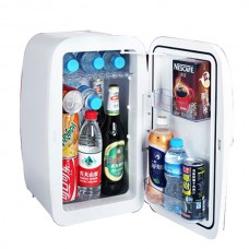 Small Refrigerator Mini Family Car Use Cold Storage 4L Volume