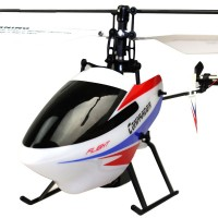 Wltoys V911-2 4CH Remote Control Helicopter Toys LCD Durable White (Helicopter Only)