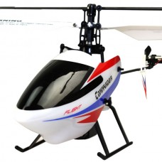 Wltoys V911-2 4CH Remote Control Helicopter Toys LCD Durable White ( A Package)