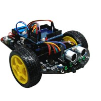 Arduino Smart Car Tracking Car Avoiding Obstacle Robotic Car Kit