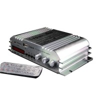 LP269 Amplifier Four Road 12V Car Amplifier/FM Radio/Read SD Card/U Disk