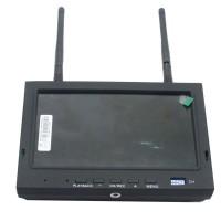 """Skyzone SKY-700D 5.8GHz 32CH Diversity 7"""" TFT FPV Monitor DVR SMA"""