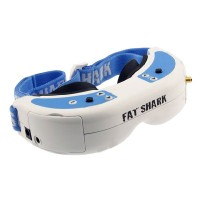 Fatshark Dominator V2 FPV Goggles Video Glasses Built-in DVR 600X480 VGA