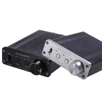 D302 Digital Amplifier 30W+30W 192k Coaxial Optical Fiber USB Sound Card Surpass TA2024 TA2021 Black (Amp Only)