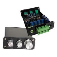 Fever Digital Amp TA2024 Digital Amplifier XR1075BBE Tone Board w/ High Low Sound Adjustable Black