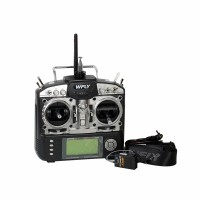 WFLY WFT08X 8 Channel 2.4G Remote Controller Transmitter (Basic Configuration + Analog5.0)