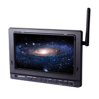 ST-700DW HD 7 inch Built in 5.8G Receiver Video Monitor DVR for FPV Photography