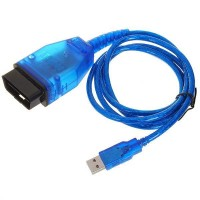 KKL VAG-COM 409.1 OBD 2 II USB Diagnostic Cable Auto Scan Scanner Tool Interface Blue
