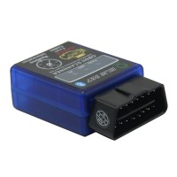 ELM327 v1.5 Black Bluetooth OBD2 Car CAN Wireless Adapter Scanner TORQUE ANDROID