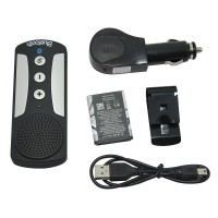 Wireless Car Bluetooth V3.0 Speakerphone Multipoint Speakerphone Hands Free Speakerphone Car Kit