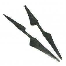 1755 17 X 5.5 Carbon Fiber Propeller Prop CW/CCW for QuadCoptor 1 pair