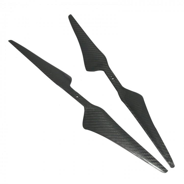 1 Pair 1755 17*5.5 Carbon Fiber Propeller CW//CCW for Quadcopter